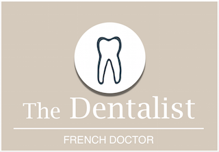 Logo The Dentalist blanc petit