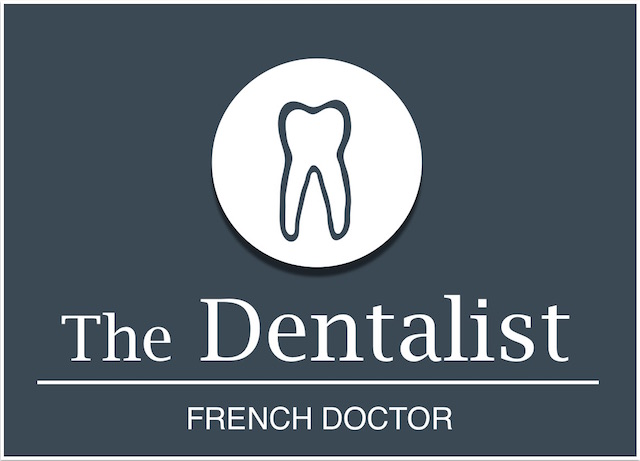 Logo The Dentalist bleu