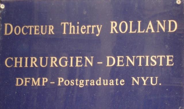 Dentistes (plus ou moins) Célèbres